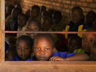 niños refugiados migrantes
