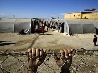 Siria campo de refugiados