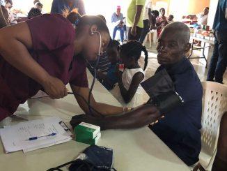 Haití intervención sanitaria