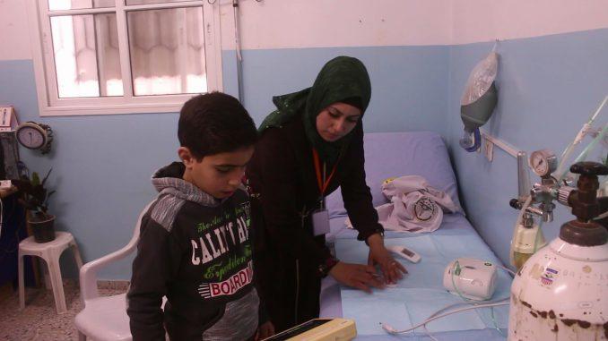 Gaza, asistencia médica