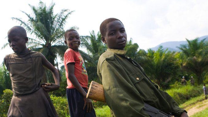 2018 Violencia contra la infancia en guerras