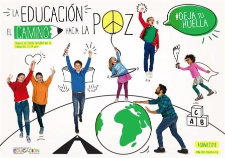 La Semana Mundial por la Educación reivindica garantías de eduación en contextos de emergencia y