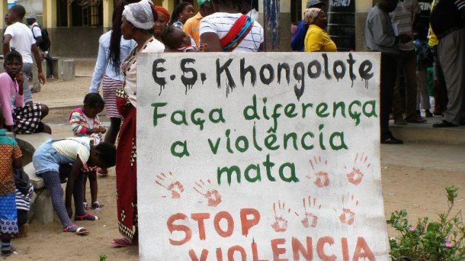 mozambique violencia de genero