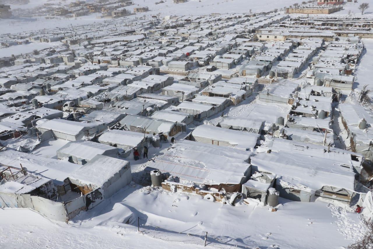 Campos de refugiados afectados por Norma