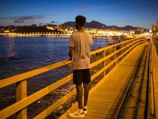 Niños migrantes en España