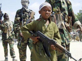 Niños soldado