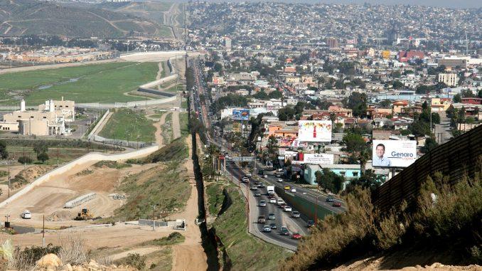 Frontera Estados Unidos y México
