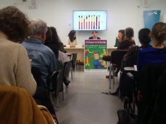 Economía solidaria acto presentacion_informe_Diana_Canela