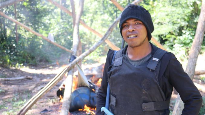 """Paulo Pauino """"Lobo Mau"""" Guajajara, Guardián de la Amazonia"""