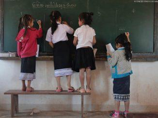 niñas pobres educación