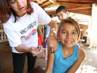 Campaña vacunación Sarampión