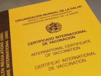 Covid-19 certificado salud