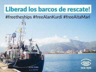 Aita Mari y Alan Kurdi retenidos en Palermo