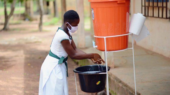 escuelas lavado de manos