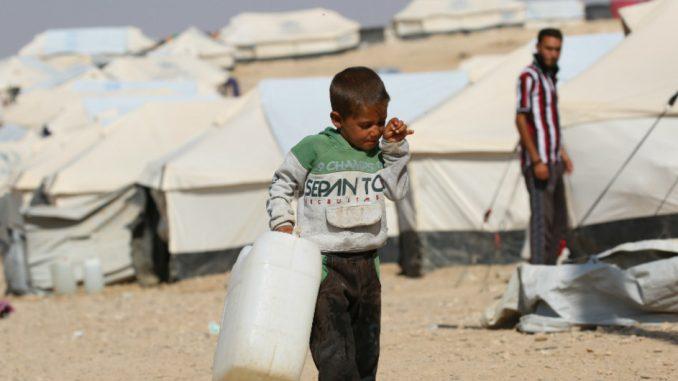 campamento Al Hol, Siria