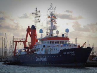Sea Watch, barco de rescate