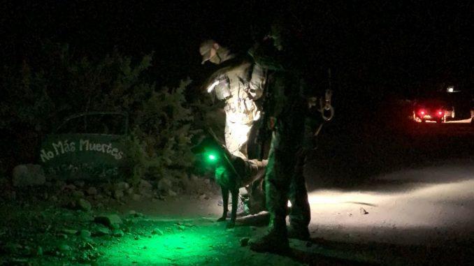 Byrd camp redada patrulla fronteriza