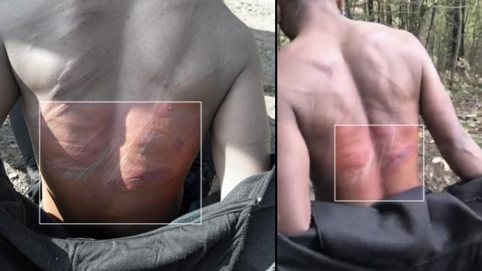 Violencia de la policía fronteriza de Croacia