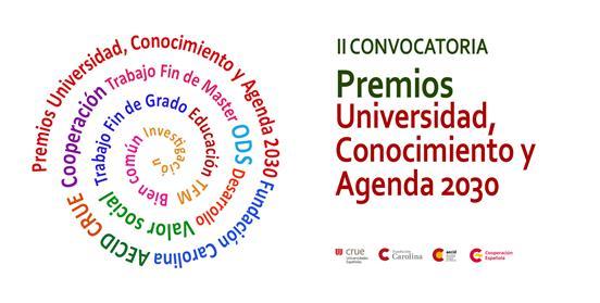 """Premios """"Universidad, Conocimiento y Agenda 2030"""""""