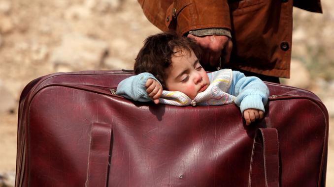 """Maleta Refugiados campaña """"Segunda Vida"""""""