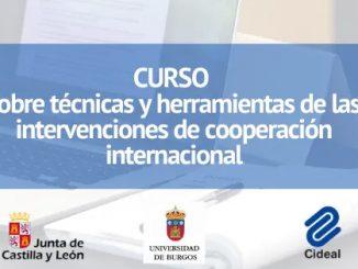 curso cooperación internacional