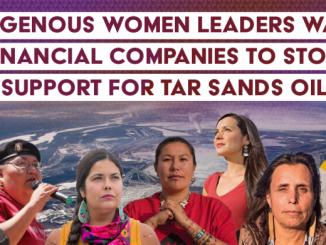 indígenas americanas contra las empresas de extracción