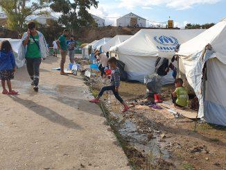Campo de Kara Tepe II en Lesbos