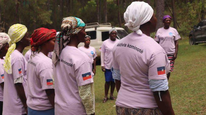 Mujeres Haití