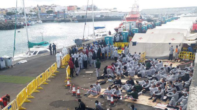 Migrantes en Canarias