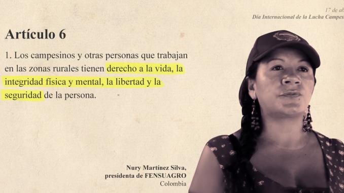 Elsa Nury Martínez Silva Colombia
