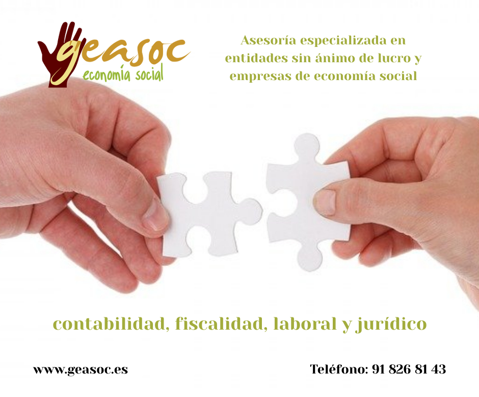 Asesoría especializada en entidades sin ánimo de lucro y empresas de economía social