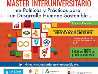 Máster Propio Interuniversitario en Políticas y Prácticas para un Desarrollo Humano Sostenible