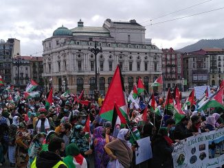 Manifestacion pro Sáhara Occidental | pueblo saharaui en Bilbao