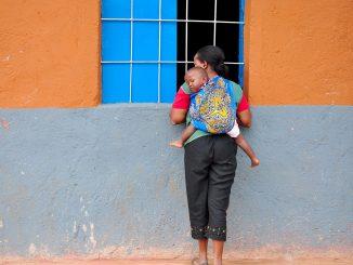 niñas africa