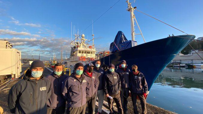 Aita Mari retorno al Mediterráneo Central
