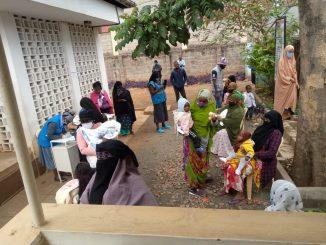 Dispensario de Salud en Kenia