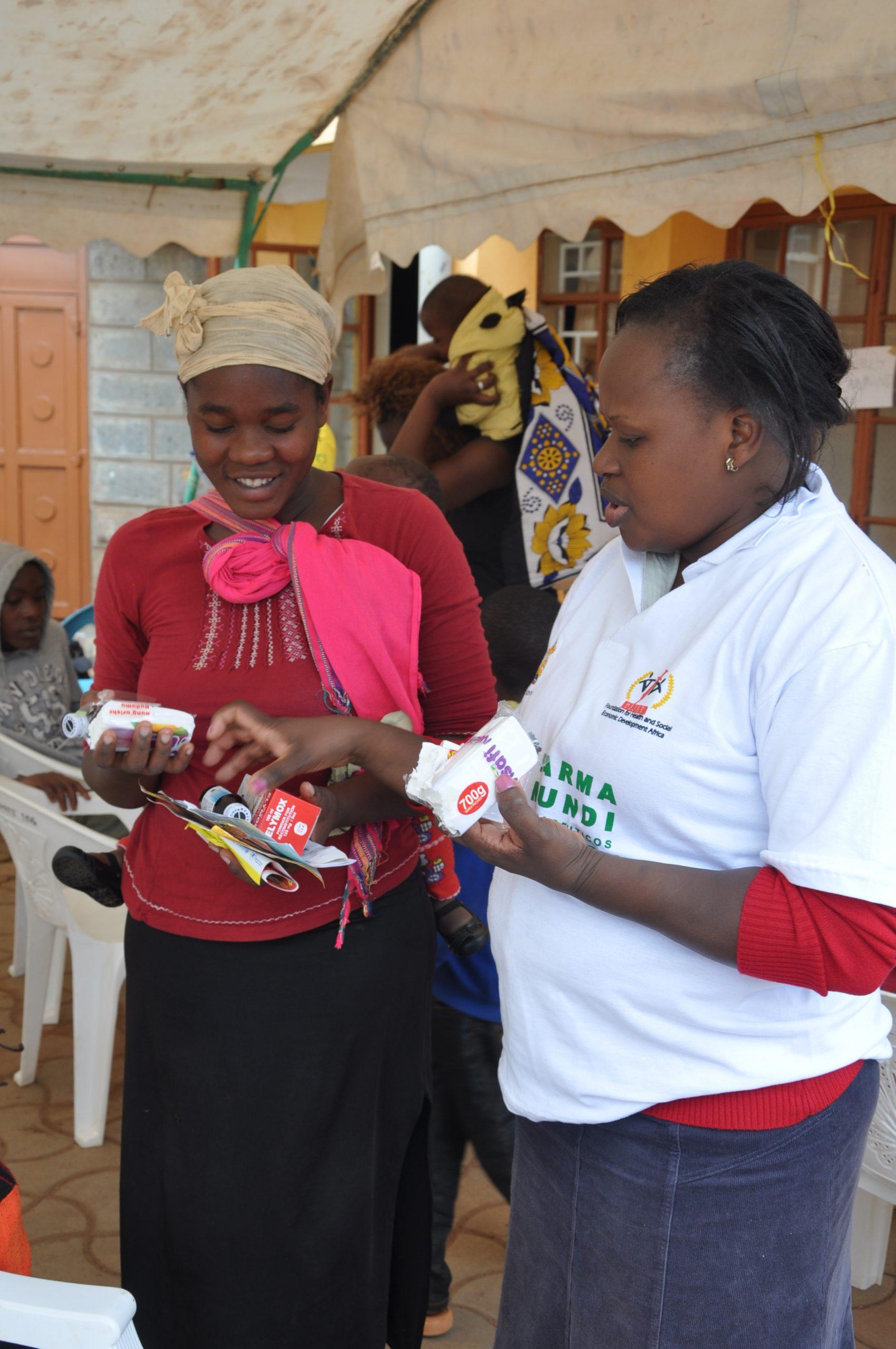 Salud en Kenia. Eunice Nwawe