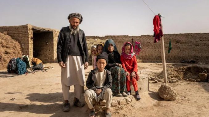 Afganistán familia de Brishna, Save the Children