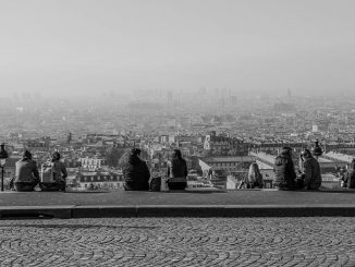 Inacción climática gobierno francés. Contaminación París.