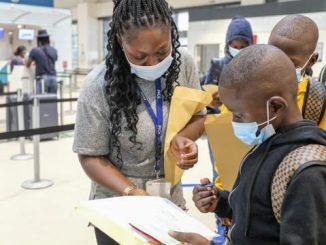 Trata niños Ghana rescatados