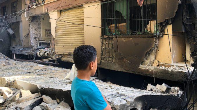 Ataques franja de Gaza
