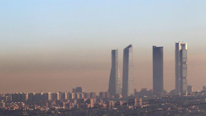 contaminación Madrid. demanda climática gobierno de España