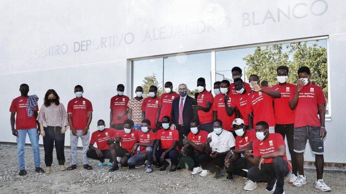 Inauguracion centro deportivo Alejandro Blanco