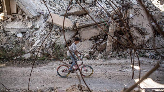 Cambia las reglas infancia Siria