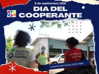 Personas cooperantes, día internacional del 8 de septiembre