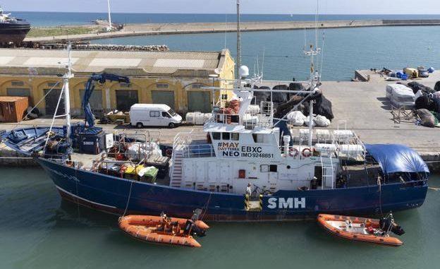 Sexta misión Aita Mari en el Mediterráneo Central